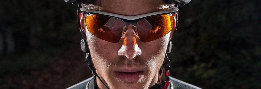 lunettes de cycliste